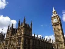 Big Ben i domy parlament w Londyn UK Fotografia Royalty Free