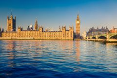 Big Ben i London Royaltyfria Bilder