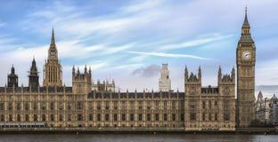Big Ben i parlament Zdjęcie Stock