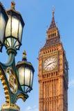 Big Ben i tidig vintermorgon Arkivfoton