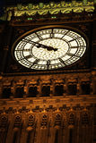 Big Ben Illuminated At Night, London, England Royalty Free Stock Photo