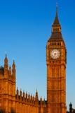 Big Ben im Morgensonnenschein Stockbild
