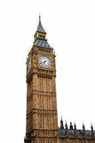 Big Ben isolated Stock Image