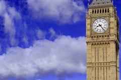 Big Ben klockatorn, London England arkivfoto