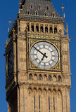 Big Ben in the late evening - Dial Stock Photos