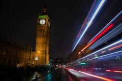 Big Ben lights Royalty Free Stock Photos