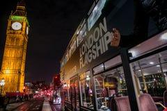 Big Ben lights Stock Photo