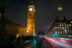 Big Ben lights Stock Photos