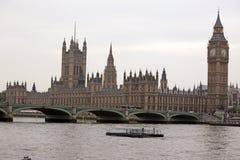 Big Ben, Londen Royalty-vrije Stock Afbeeldingen