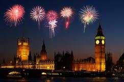Big Ben in Londen stock foto's