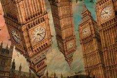 Big Ben, Londen, digitaal art. Stock Afbeeldingen