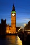 Big Ben in London. At night, UK, 2009 Stock Photo