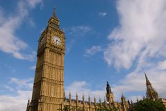Big Ben of London Stock Image