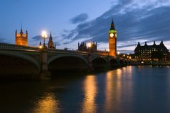 Big Ben of London Royalty Free Stock Photography