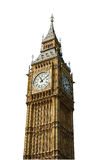 Big Ben London. The Big Ben in London, isolated clipping path included Royalty Free Stock Photos