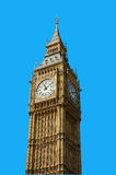 Big Ben London. The Big Ben in London, isolated clipping path included Royalty Free Stock Images