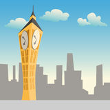 Big ben, London vector illustration