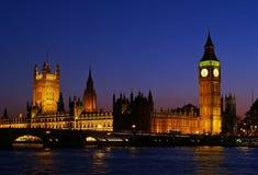 Big Ben in London lizenzfreies stockfoto