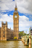 Big Ben in London. UK Stock Image