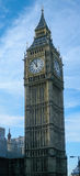Big Ben London. View of the famous London - Big Ben Tower Clock stock photos