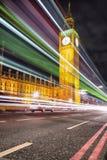 Big Ben London. Night vision Royalty Free Stock Image