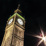 Big Ben, London. Big Ben by night, London Stock Image