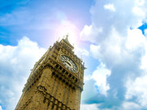 Big Ben, london. Big Ben the famous clock tower of London, England Stock Photography