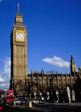 Big Ben in London. Spring, Summer Royalty Free Stock Photography