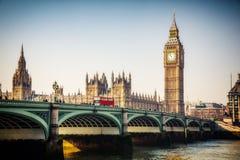 Big Ben in London lizenzfreie stockfotos