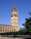 Big Ben London. Big Ben is the nickname for the great bell of the clock at the north-eastern end of the Palace of Westminster in London Stock Photo