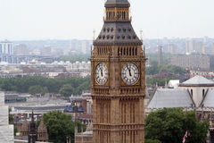 Big Ben, London. An aerial photo of the Big Ben, London, England Stock Photo