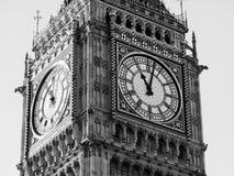 Big Ben - London. Big Ben, London in black and white Royalty Free Stock Image
