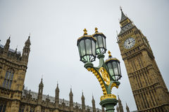 Big Ben, London Bridge England Stock Photography
