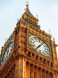 Big Ben, London. Close up of Big Ben in London Stock Images
