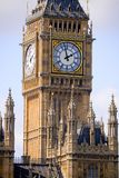 Big Ben in London with clouds background Royalty Free Stock Photography
