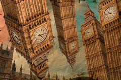 Big Ben London, digital konst Arkivbilder