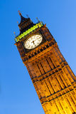 Big Ben London at Dusk Royalty Free Stock Photography