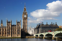 Big Ben in London, England Royalty Free Stock Images