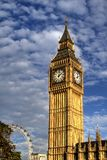 The big ben, london, england. A suggestive view of the english landmark Royalty Free Stock Image