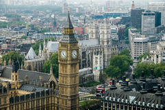 Big Ben. In London, England Stock Photography