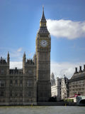 Big Ben, London, England. MS Big Ben and Westminster London Royalty Free Stock Photos
