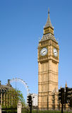 Big Ben - London, England. The iconic Big Ben clock tower, standing over the Houses of Parliament in London, England Stock Photos