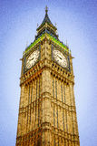Big Ben, London, England, the UK. The Clock Tower of Big Ben in London. The famous icon of London, England, the UK Stock Photography