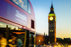 Big Ben, London, England, the UK. Stock Photos