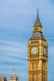 The Big Ben in London, England. The Big Ben in Westminster, London on a bright sunny day Royalty Free Stock Photo