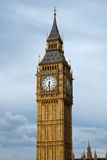 Big Ben in London at evening Royalty Free Stock Photo