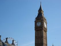 Big ben. With London eye Royalty Free Stock Image