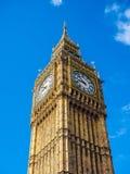 Big Ben in London (hdr) Royalty Free Stock Photos