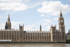 The Big Ben in London Stock Image