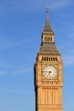 Big Ben in London. The landmark in London - Big Ben clock tower, England Royalty Free Stock Photography